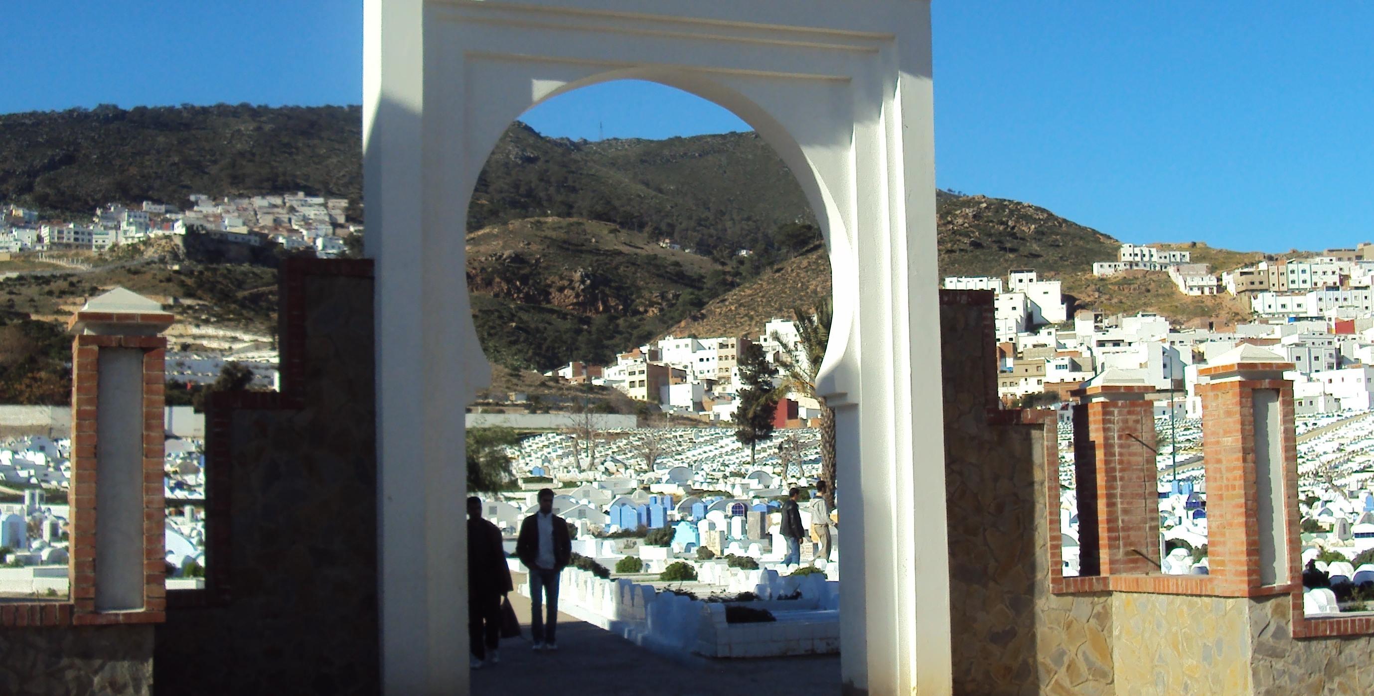 نتيجة بحث الصور عن مقابر تطوان